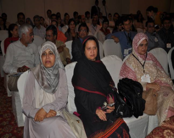 Senior Anaesthesiologist attending the session