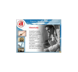 Journey of Anaesthesia & PSA