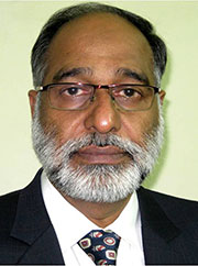Prof. Zahid Akhtar Rao, Chair, Registration Committee