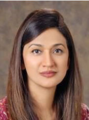 Prof. Samina Ismail, Chair, Printing & Publication Committee